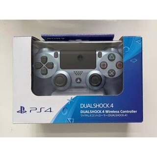 プレイステーション4(PlayStation4)のps4コントローラー純正品 チタンブルー(その他)