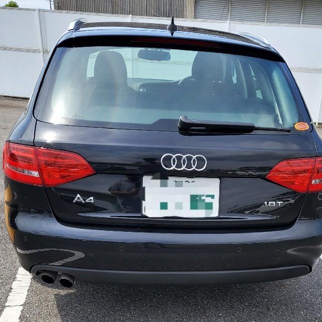 AUDI(アウディ)の2009年式 アウディ A4アバント 1.8TFSI コーディング済み 自動車/バイクの自動車(車体)の商品写真