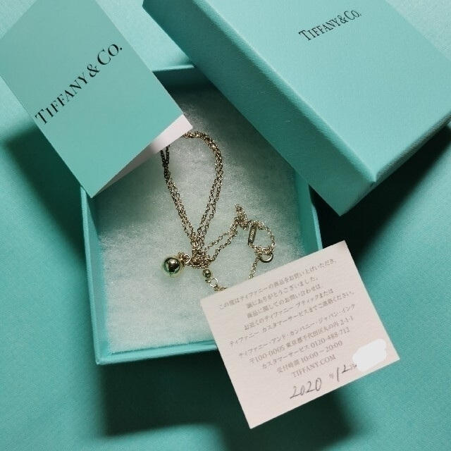 Tiffany & Co.(ティファニー)のティファニー ハードウェア ボールペンダント ネックレス 8mm レディースのアクセサリー(ネックレス)の商品写真