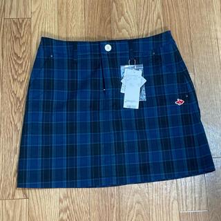 PEARLY GATES - パーリーゲイツ新品スカート1チェック柄レディースゴルフウェア
