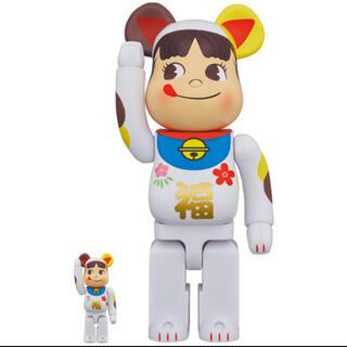 BE@RBRICK 招き猫 ペコちゃん 福 100% & 400% (その他)