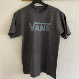 VANS - VANS グレー シンプル ロゴ Tシャツ