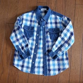 ムージョンジョン(mou jon jon)のムージョンジョン 長袖シャツ120サイズ(ブラウス)