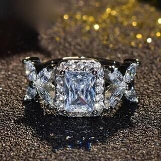 【豪華絢爛】31連ダイヤモンドリング  3ct #プラチナ加工#