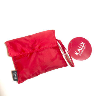 KALDI - 新品 カルディ エコバッグ レッド 赤