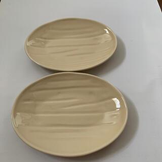 たち吉 - 金麦あいあい皿 浅黄木目皿 2枚 たち吉謹製