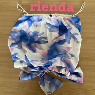 リエンダ(rienda)のrienda チューブトップ♡(ベアトップ/チューブトップ)