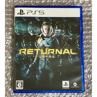 プレイステーション(PlayStation)のPS5 リターナル 初回特典付(家庭用ゲームソフト)