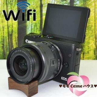 キヤノン(Canon)のキャノン EOS M10☆WiFiつきミラーレス☆大人気☆1505(ミラーレス一眼)