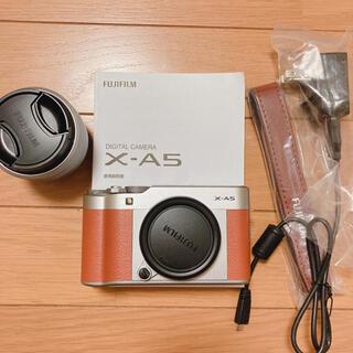 フジフイルム(富士フイルム)の富士フイルム x-a5 XC15-45mmF3.5-5.6 OIS PZ レンズ(ミラーレス一眼)