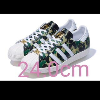 adidas - アディダス SUPERSTAR80S BAPE  GZ8981