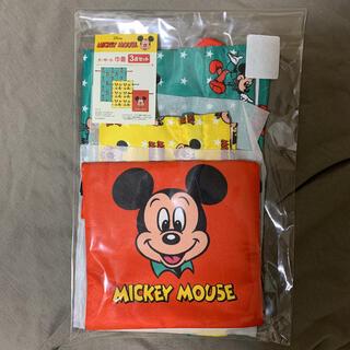 しまむら - ディズニー しまむら レトロ ミッキー 巾着3点セット