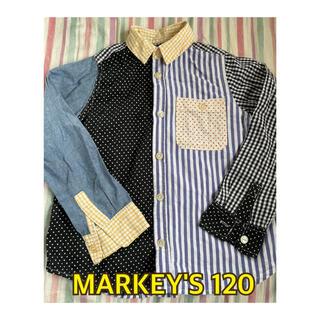 マーキーズ(MARKEY'S)のMARKEY'S マーキーズ シャツ 120(ブラウス)