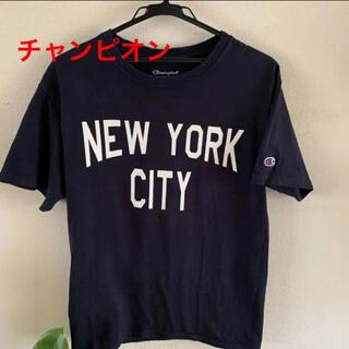 Champion - Champion チャンピオン ニューヨーク 半袖 Tシャツ ネイビー M