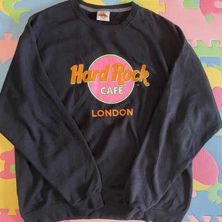 ハードロックカフェ hard rock cafe トレーナー スウェット 90s