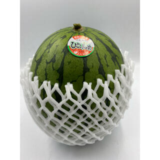 和歌山県産 ひとりじめスイカ1玉 2L 約2.3kg(フルーツ)