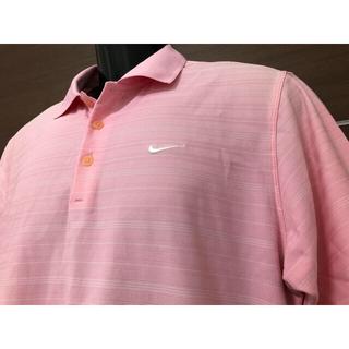 NIKE - ◆NIKEナイキゴルフ◆半袖ポロシャツ◆M◆ピンク