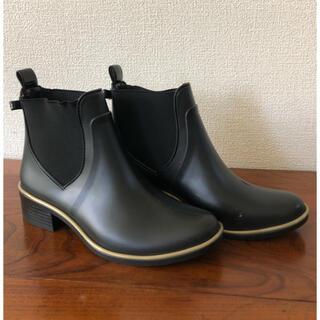 ケイトスペードニューヨーク(kate spade new york)のケイトスペード レインシューズ22.5cm(レインブーツ/長靴)