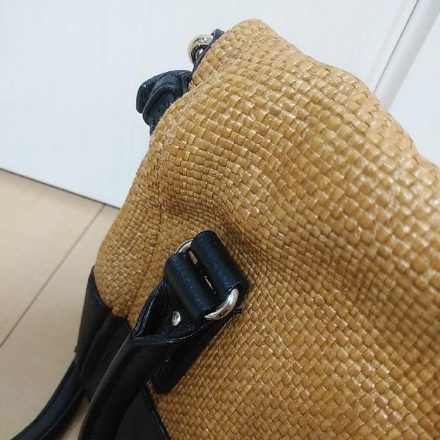 kate spade new york(ケイトスペードニューヨーク)のkate spade ケイトスペード 2wayバッグ ショルダー かご 美品 レディースのバッグ(かごバッグ/ストローバッグ)の商品写真