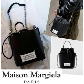 Maison Martin Margiela - マルジェラ★2way レザー バケットバック★Maison Margiela