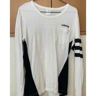 アディダス(adidas)のadidas NEO(Tシャツ/カットソー(七分/長袖))