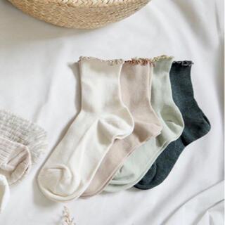 シマムラ(しまむら)のTRCSリブメロウ 全色4点セット 靴下 てらさん(ソックス)