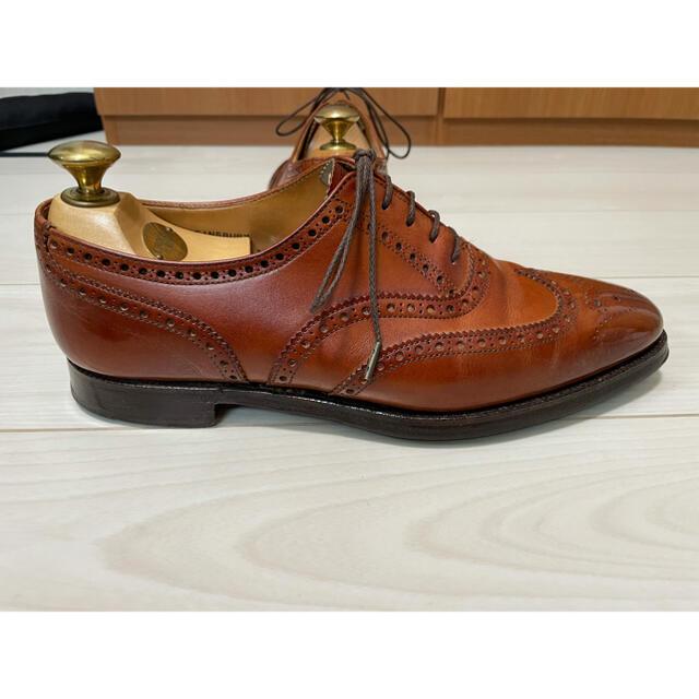 Crockett&Jones(クロケットアンドジョーンズ)の【純正ツリー付】Crockett&Jones Finsbury UK6.5 メンズの靴/シューズ(ドレス/ビジネス)の商品写真