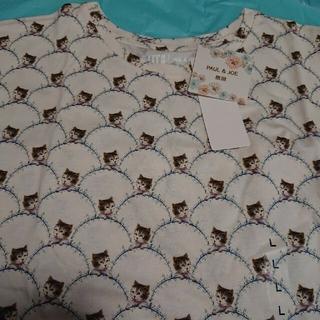 PAUL & JOE - PAUL & JOE ネコTシャツ Lサイズ 新品未使用