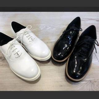 スタイルデリ(STYLE DELI)の金曜sale【未使用】Style Deli 日本製マニッシュレースアップシューズ(ローファー/革靴)