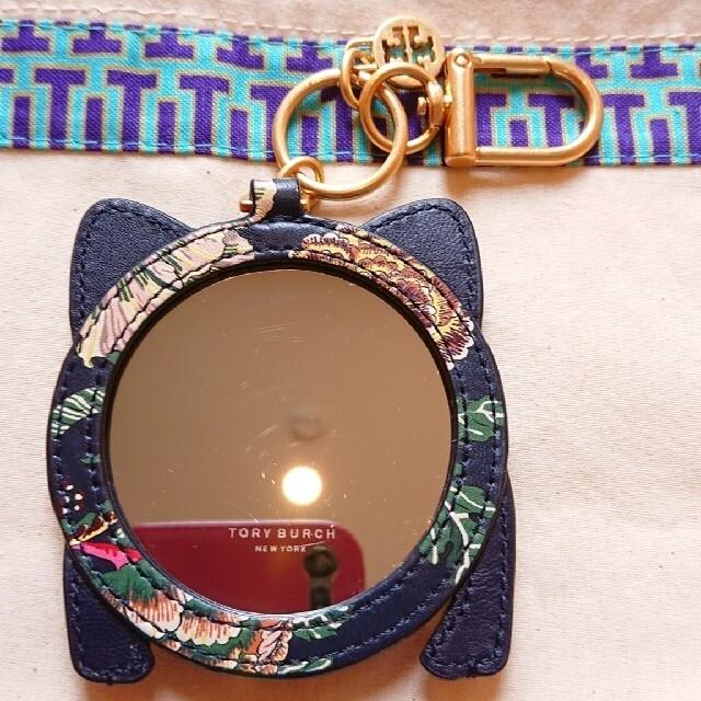 Tory Burch(トリーバーチ)のブタ チャーム 鏡 ハンドメイドのファッション小物(バッグチャーム)の商品写真
