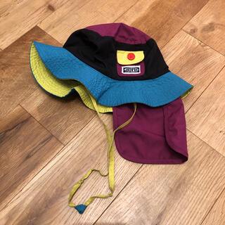 アンパサンド(ampersand)のAMPERSAND 帽子 首日除け付き 52cm(帽子)