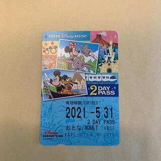ディズニー(Disney)のディズニー モノレール 2DAY PASS チケット パス(遊園地/テーマパーク)