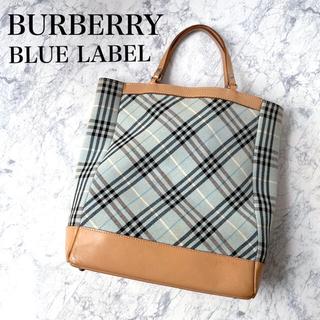 BURBERRY BLUE LABEL - バーバリーブルーレーベル  ノバチェック トートバッグ バーバリー 春夏 鞄