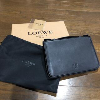 ロエベ(LOEWE)のロエベ トラベルケース 黒(長財布)