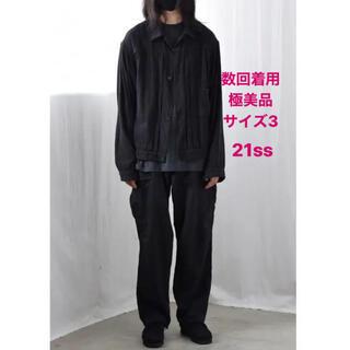 コモリ(COMOLI)のcomoli 21ss シルクネップTYPE-1st サイズ3(ブルゾン)