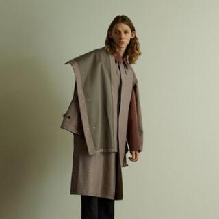 1LDK SELECT - YOKE 19ss/ Downsizing Bal Collar Coat