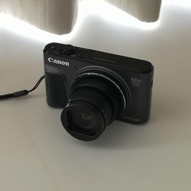 Canon(キヤノン)のCanon PowerShot SX720 HS+SDカード[64G](完動品) スマホ/家電/カメラのカメラ(コンパクトデジタルカメラ)の商品写真
