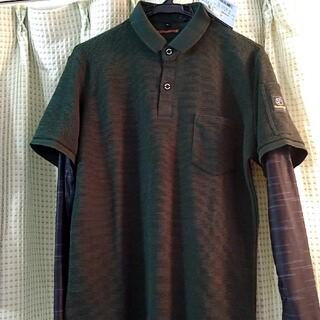 イーブンリバー(EVEN RIVER)のイーブンリバー腕カバー付きポロシャツM!(ポロシャツ)