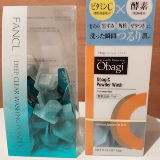 Obagi - 【残り1点】酵素洗顔パウダー.FANCL.オバジ各10個 ※無料特典付