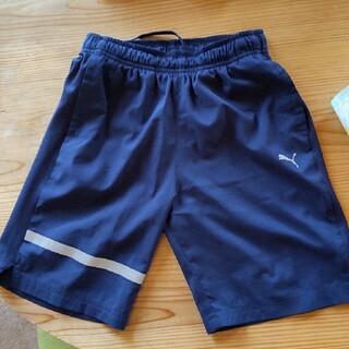 プーマ(PUMA)のプーマ ハーフパンツ紺色  140cm(パンツ/スパッツ)