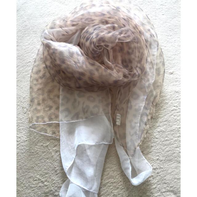 ストール  薄手 未使用❣️ レディースのファッション小物(マフラー/ショール)の商品写真