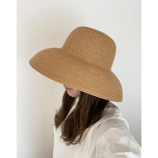 ♧新品未使用♧カサブランカハット 麦わら帽子 ストローハット(麦わら帽子/ストローハット)