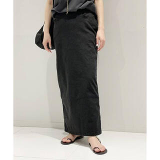 L'Appartement DEUXIEME CLASSE - AP STUDIO ウォッシュ タイトスカート ブラック 38