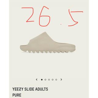 アディダス(adidas)の送料無料 ADIDAS YEEZY SLIDE RESIN 26.5cm(サンダル)