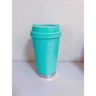 Starbucks Coffee - スタバ ステンレスToGoロゴタンブラーパールグリーン