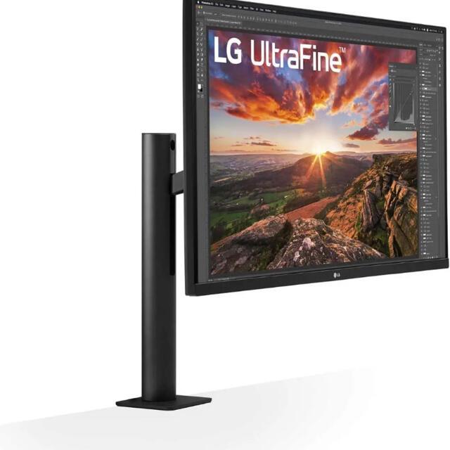 LG Electronics(エルジーエレクトロニクス)のLG UltraFine Diaplay Ergo 32UN880-B スマホ/家電/カメラのPC/タブレット(ディスプレイ)の商品写真