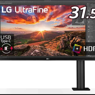 LG Electronics - LG UltraFine Diaplay Ergo 32UN880-B