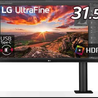 エルジーエレクトロニクス(LG Electronics)のLG UltraFine Diaplay Ergo 32UN880-B(ディスプレイ)