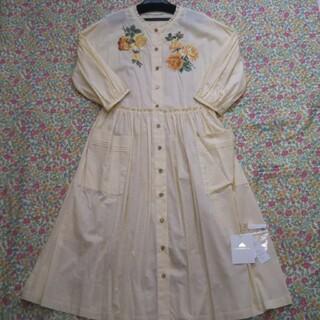 ジェーンマープル(JaneMarple)のジェーンマープルドンルサロン Compact lawn rose EMB ドレス(ロングワンピース/マキシワンピース)