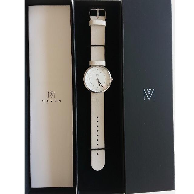 BEAUTY&YOUTH UNITED ARROWS(ビューティアンドユースユナイテッドアローズ)のmaven watches  腕時計 新品未使用 レディースのファッション小物(腕時計)の商品写真